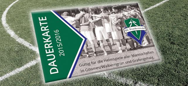 FC Frankenwald Dauerkarte 2015/16