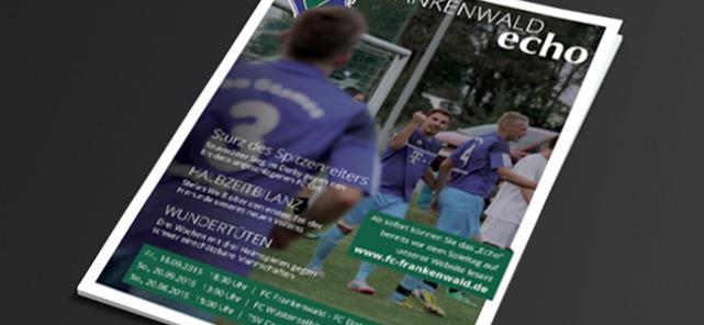 Echo – das Magazin des FC Frankenwald
