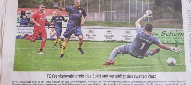 ATS 07 Hof/West — FC Frankenwald